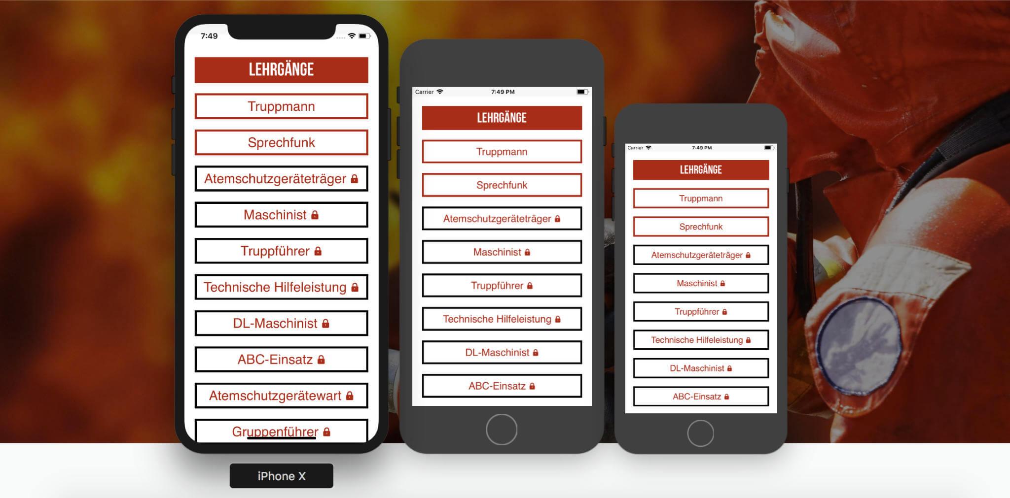 Feuerwehr Apps - Feuerwehr Prüfungshilfe App